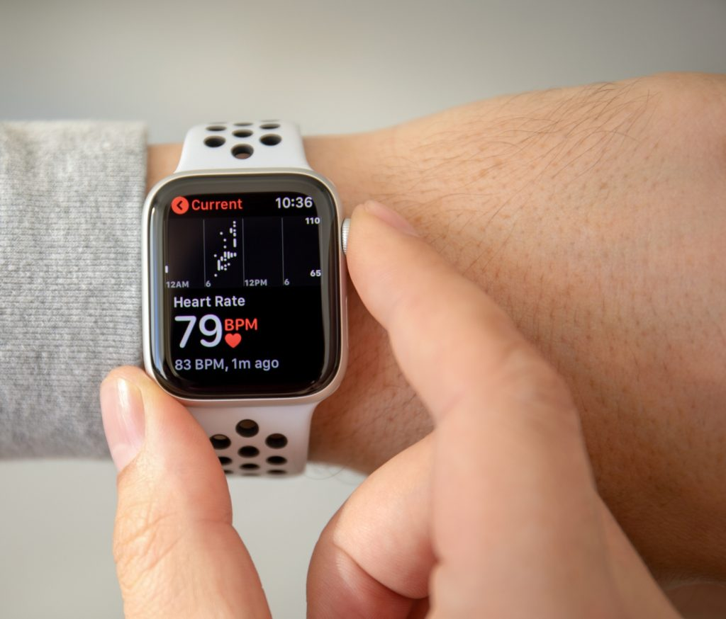 Heart Rate Monitoring Apple Watch