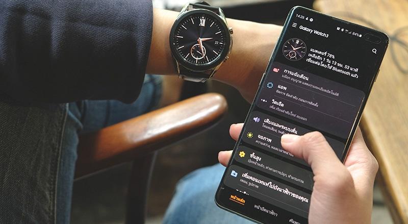 black smartwatches